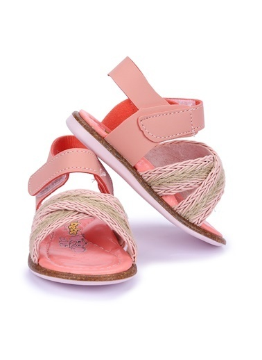 Kiko Kids Bebek Ayakkabısı Pudra
